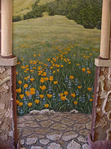 Poppies Mural