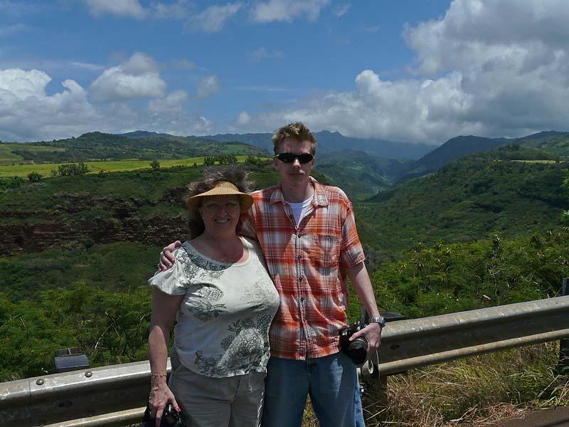 Laura & Chris at Canyon Entrance