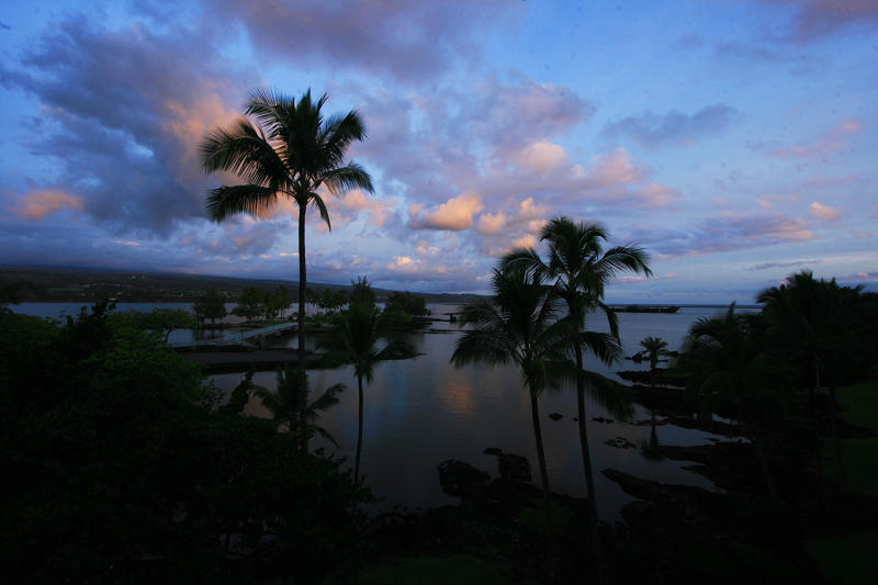 Sunrise in Hilo