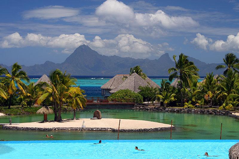 Moorea, As Seen From Tahiti