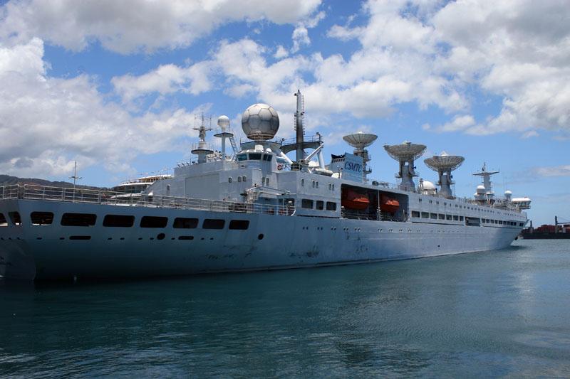Yuan Wang ship used by Chinas space program