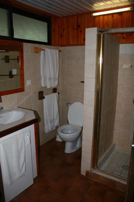 Bathroom at Club Bali hai