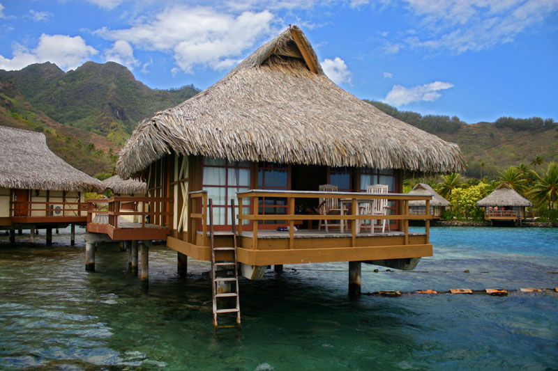 Overwater bungalow at Intercontinenal