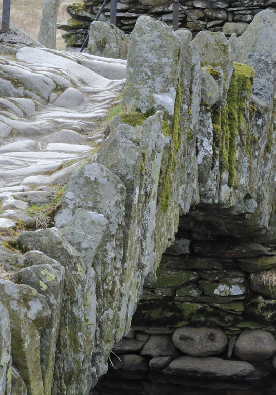Slater bridge detail - just imagine the boots and hooves need to erode the slate