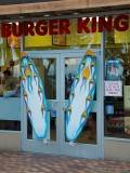Burger King with surf boards