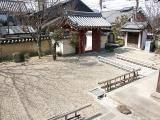 temple's stone garden