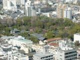 Shosei-en Garden, seen from Kyoto Tower