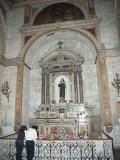side altar in cathedral