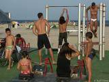 Barcelona's Version of Muscle Beach
