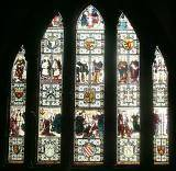 Stained-Glass Window in the Cathedral