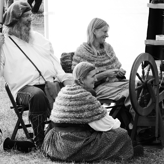 Three Spinners, Common Ground Country Fair