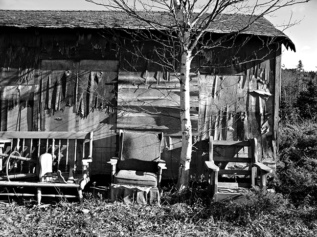 Shack and Old Furniture #2