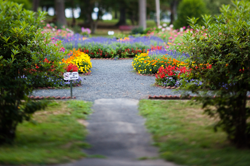 Childs Park Garden Entrance
