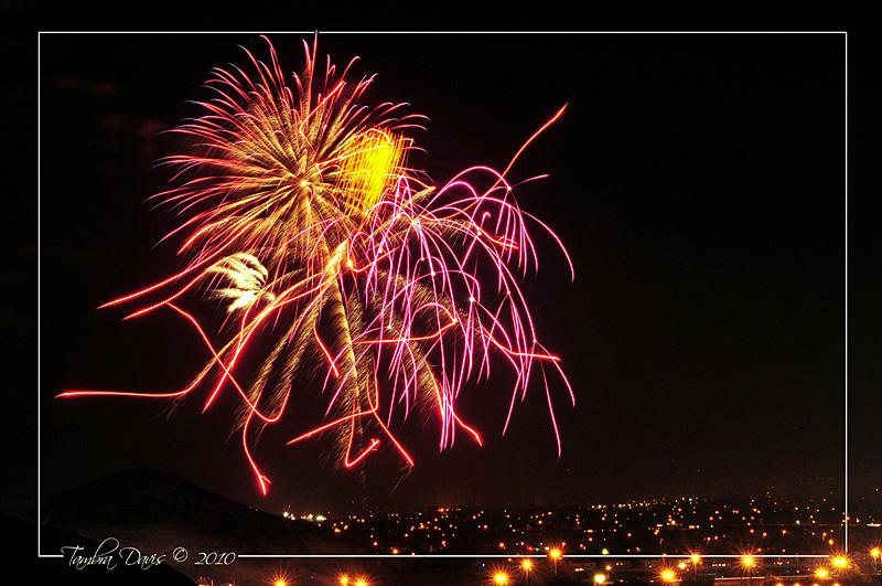 2 Fireworks over Perris, California