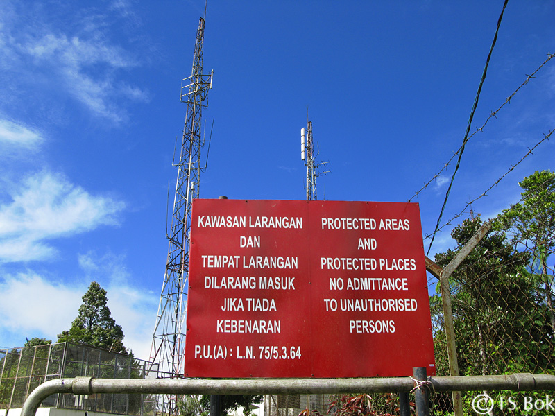 Telecom tower at Mount Brinchang.jpg