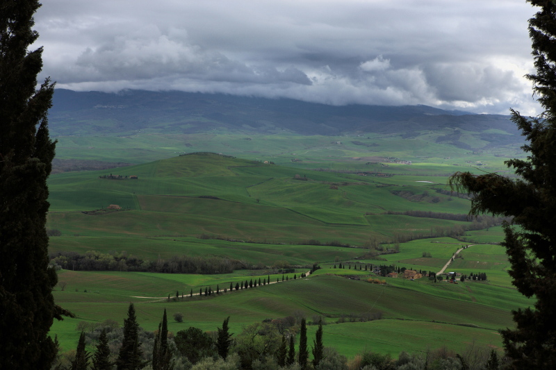 Val D Orcia, Toscana
