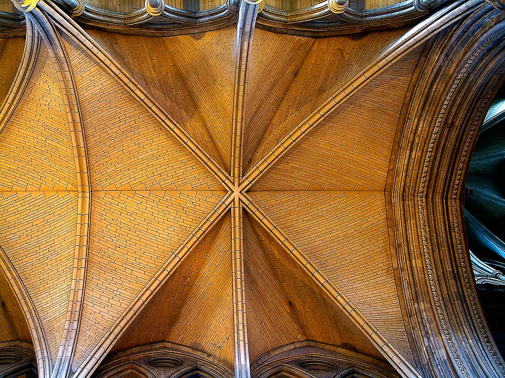 Ceiling, Truro Cathedral, Cornwall