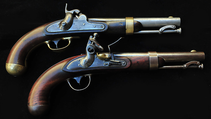 U.S. Model 1836 and Model 1842 Pistols