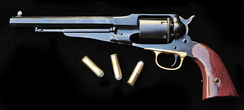 1858 Remington - Conversion