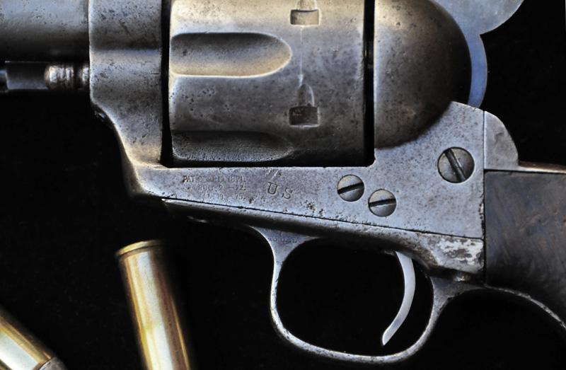 U.S. M1873 Colt Cavalry Revolver - Details