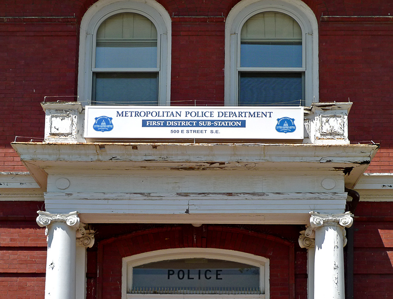 Even the Police Department is historic