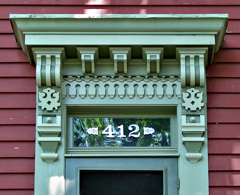 Woodwork at #412