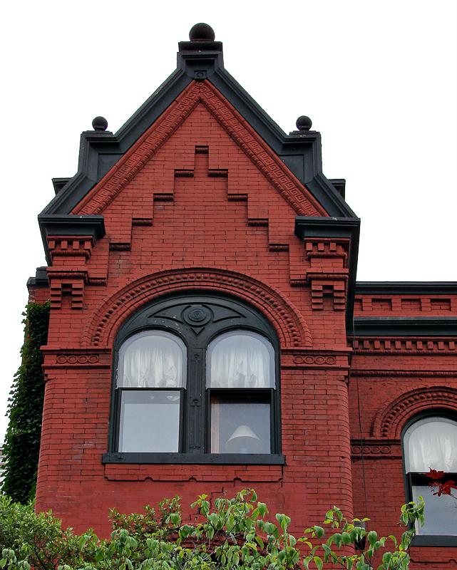 Maryland Ave, 600 block, facades
