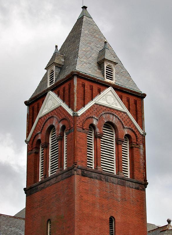 Maryland Avenue steeple