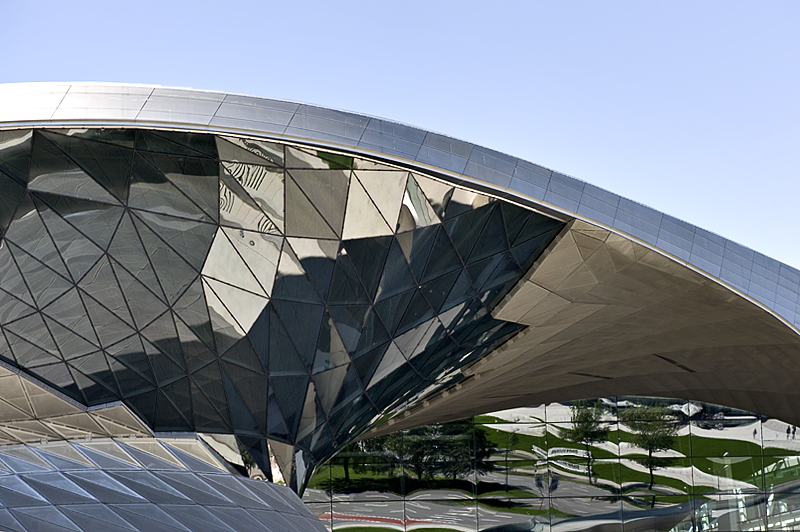 BMW Welt -- the Double Cone