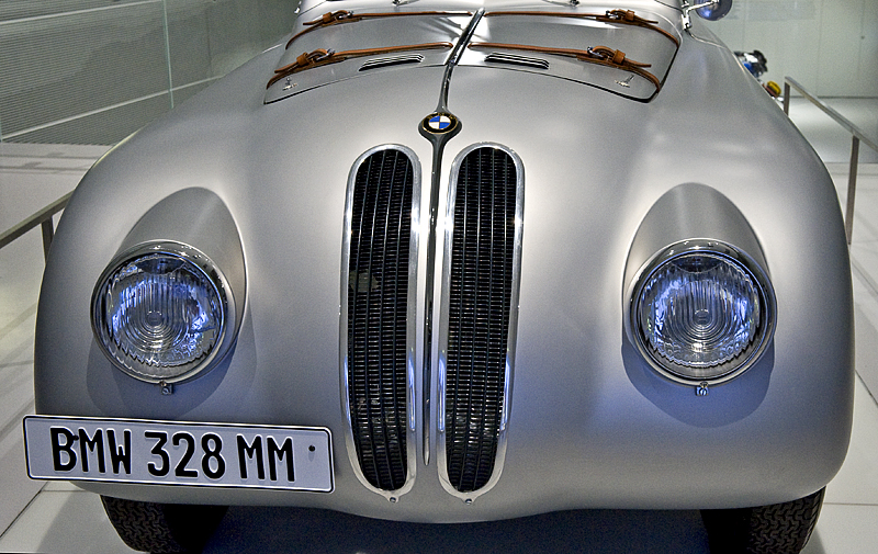 BMW 328 Mille Miglia Touring Coupe/racing car