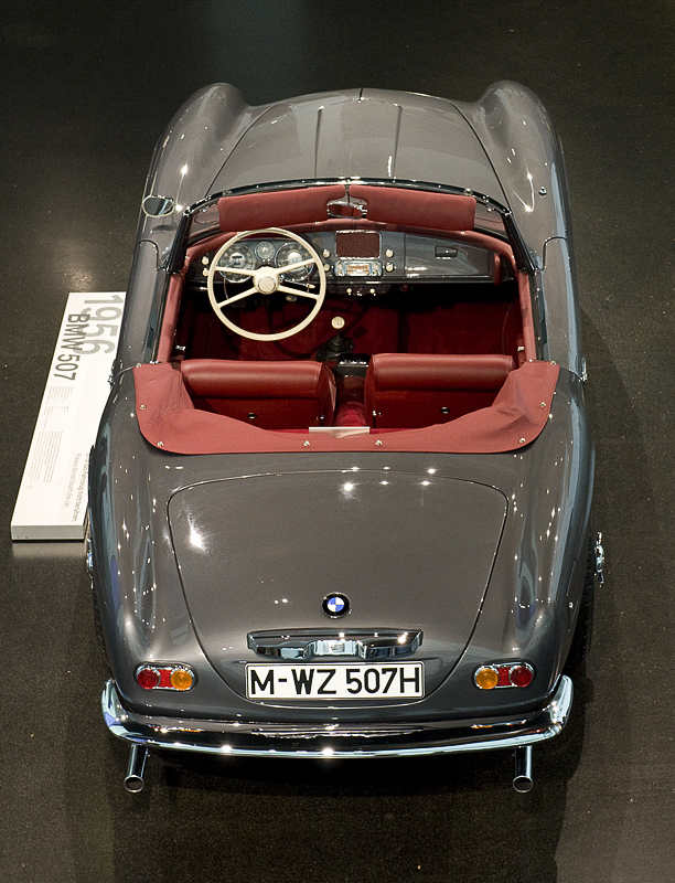 The famous BMW 507