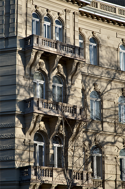 Palace on Andrássy Ut, detail