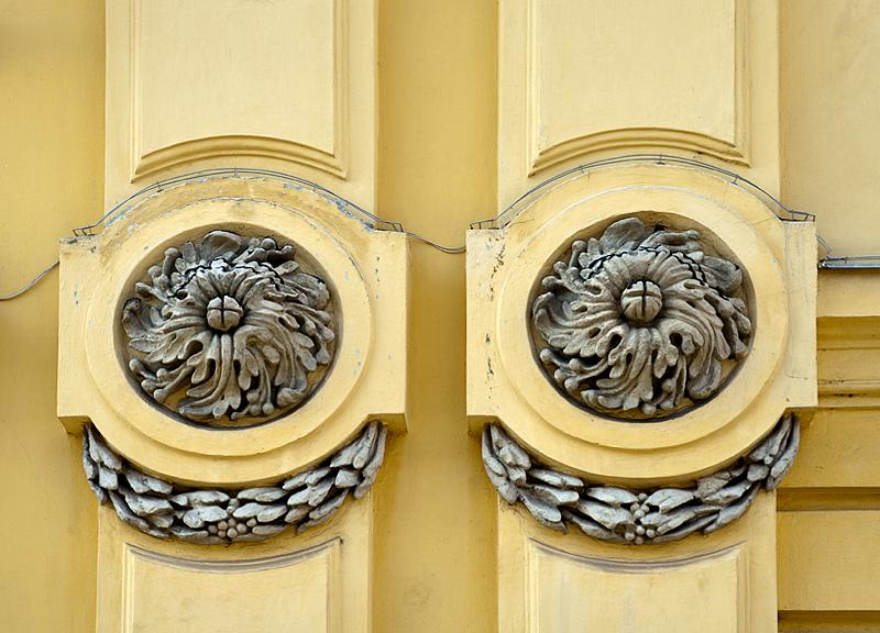 Bishops Palace, detail