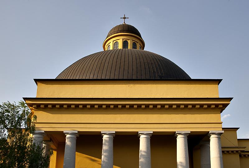 The gigantic Prohászka church