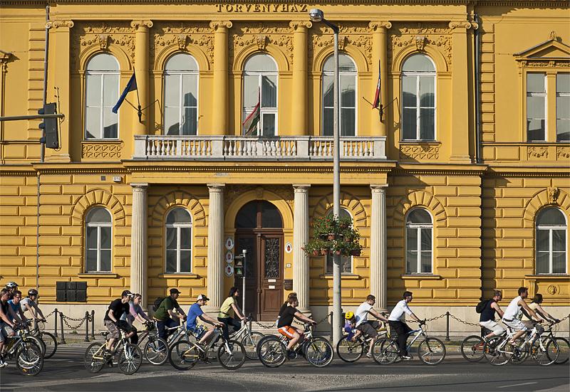 Town bike ride