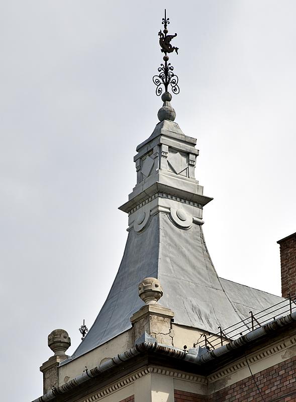 Roof under rehabilitation