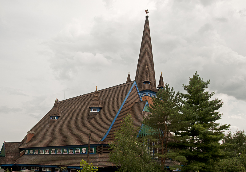 The Wooden Church revisited