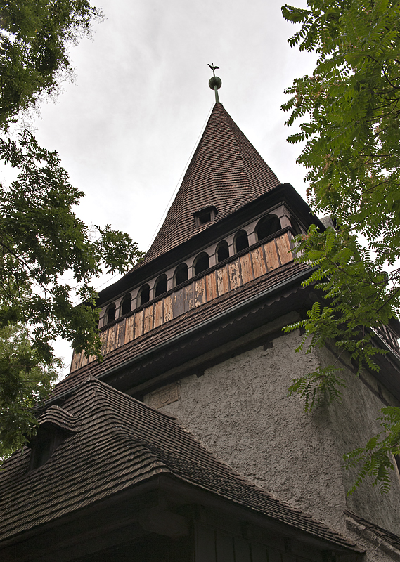 Calvinist church, Avas Hill (13th century)