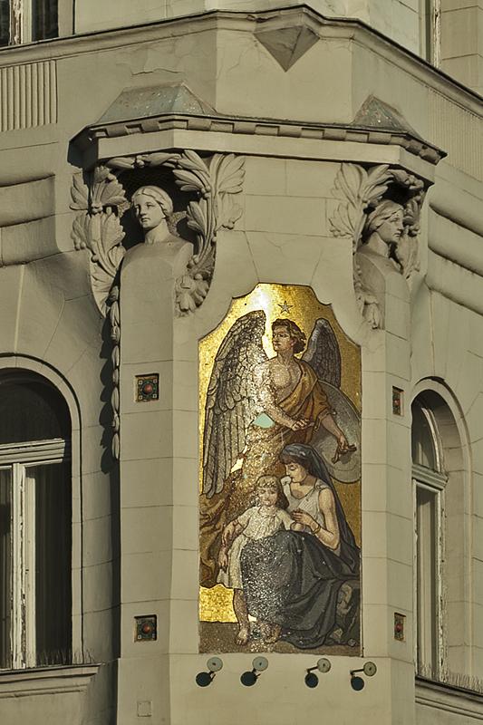 Corner mosaic