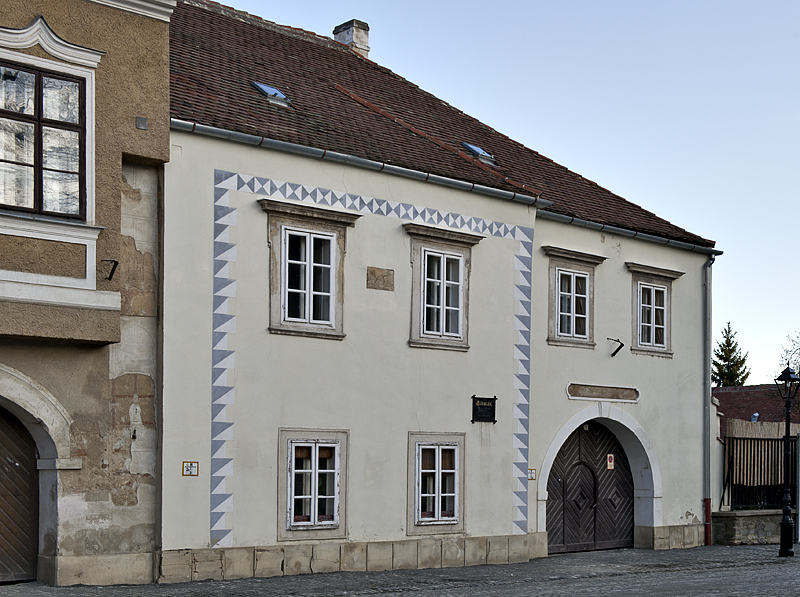 The unusual houses of Kőszeg