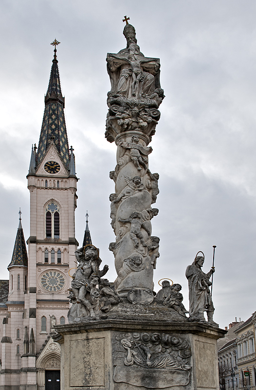 Column, Sacred Heart Church