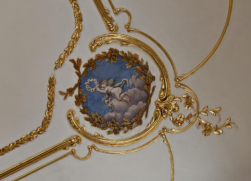 Princes apartment, ceiling decoration