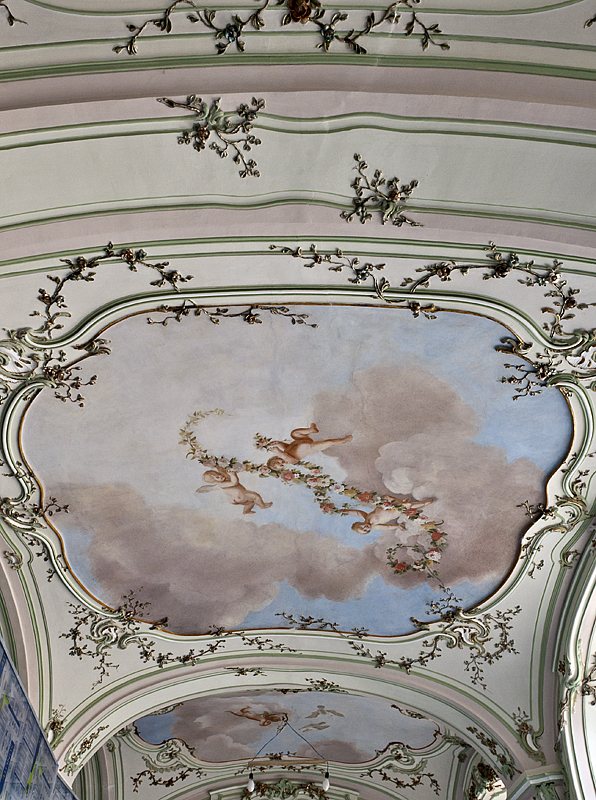 Under restoration: Sala Terrena