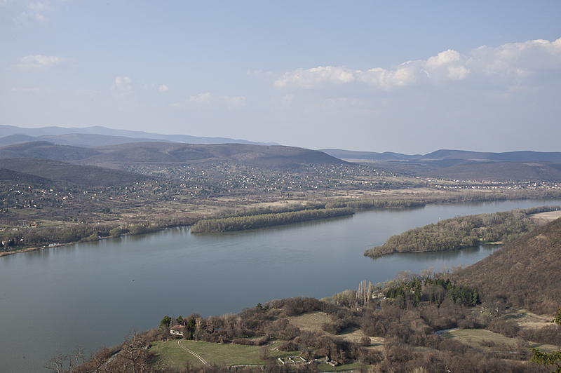 The Danube, from Visegrád Citadel
