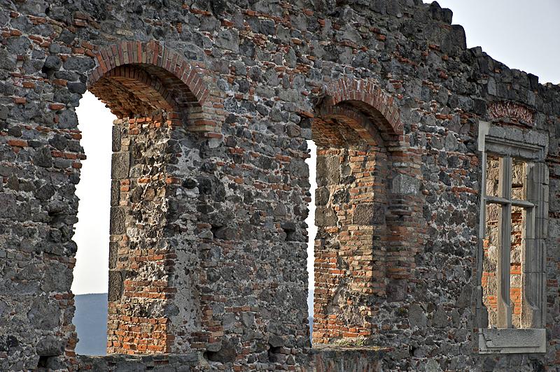 Visegrád Citadel, windows past and present