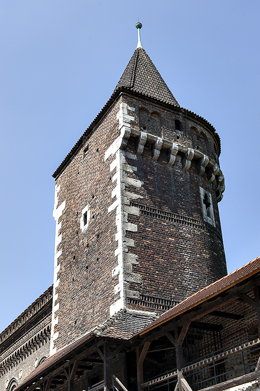 Tower, old walls remnant
