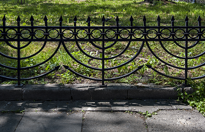 Jewish Quarter, fence in main square
