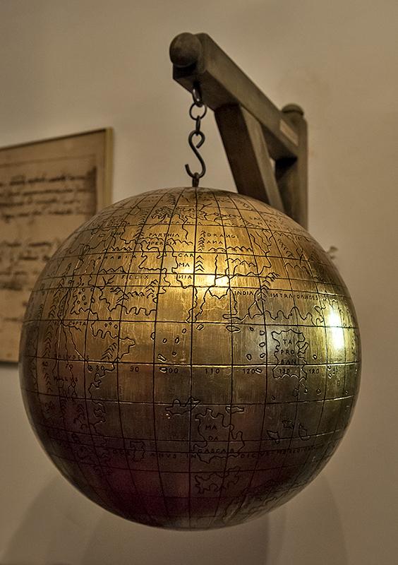 Collegium Maius, in Copernicus room