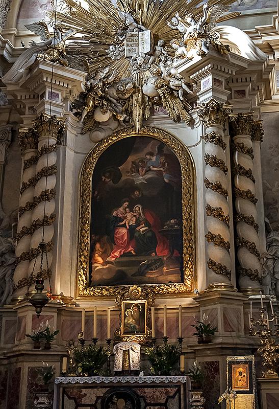 St. Annes, high altar detail