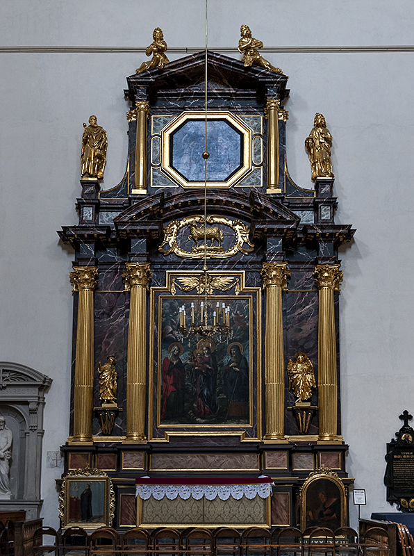 Sts. Peter and Paul, side altar